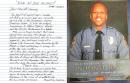 """Los reclusos de la cárcel del condado escriben una sincera carta en honor al oficial caído: """"Su servicio y sacrificio hacen del mundo un lugar mejor"""""""