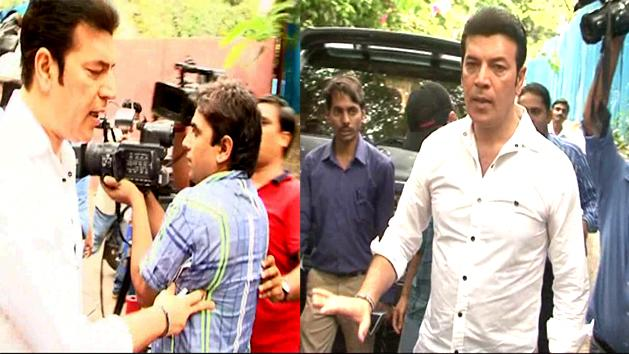 Aditya Pancholi misbehaved with media