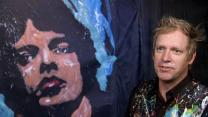 Artist honors Mick Jagger with 4-minute painting