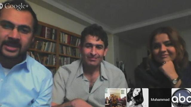 Google Hangout: Reporter in Iran Speaks to US College Students