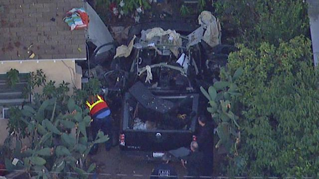 North Hollywood explosion: Truck with propane tanks investigated