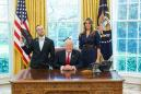 Rhode Island's 'sassy' Teacher of the Year posed next to Trump with a black lace fan — and Trump loved it