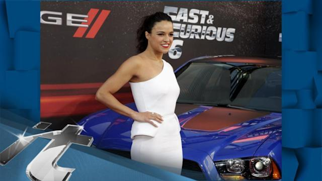 Movie News Pop: Michelle Rodriguez Gets HIGH With Fans At Fast & Furious 6 Premiere!!
