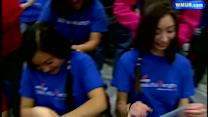 Londonderry students cut hair for good cause