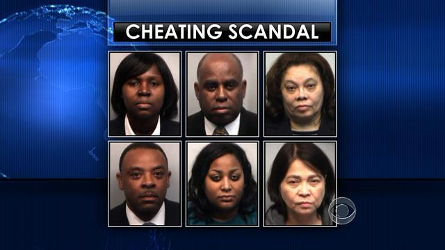 Atlanta educators turn themselves in over school cheating scandal