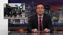 JOHN OLIVER GETS SAGINAW TO GIVE UP ITS TANK