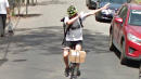 Cyclist Shows Off For Google's Street View Camera, Becomes Online Hero