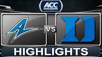 UNC Asheville vs Duke | 2013 ACC Basketball Highlights