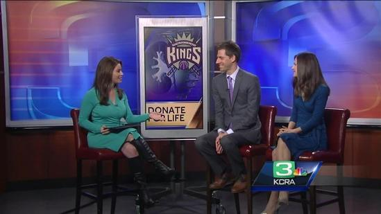 Kings to hold 'Donate for Life Night'