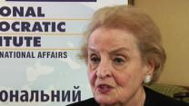 Albright: Ukraine Achieved Democratic Milestone