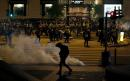 Hong Kong police fire tear gas to break up Christmas Eve protest chaos