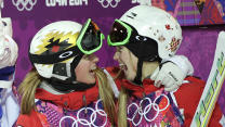 Canadian sisters on top of the Moguls world