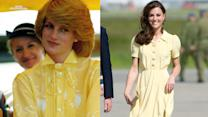 15 Times Princess Diana Inspired Kate Middleton's Style