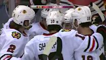 Blackhawks strike twice in nine seconds
