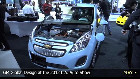 GM Global Design at the 2012 L.A. Auto Show