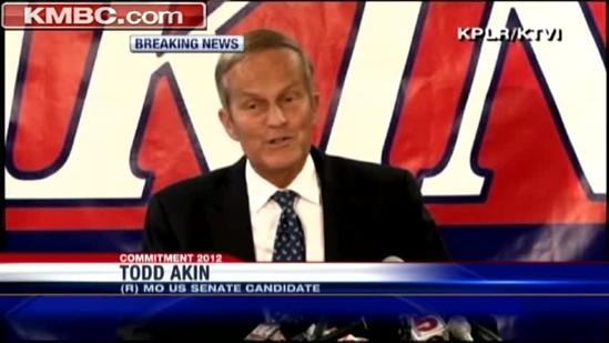 Akin says he's not leaving Mo. Senate race
