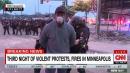 Black CNN Correspondent Omar Jimenez Arrested Live on TV in Minneapolis