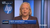 HP split the 'right thing to do': Meg Whitman