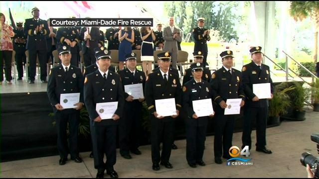Miami-Dade Fire Rescue Medal Ceremony