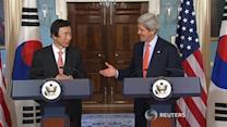 Secretary of State Kerry calls on North Korea to denuclearize
