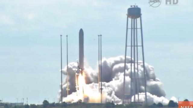 Successful NASA Launch Sends Supply Ship to International Space Station