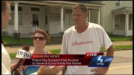 Neighbors talk about scary situation outside home during standoff