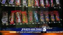 Bill Targets Junk Food in Vending Machines at State Offices
