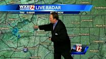 Cloudy and possible dizzle in the Piedmont