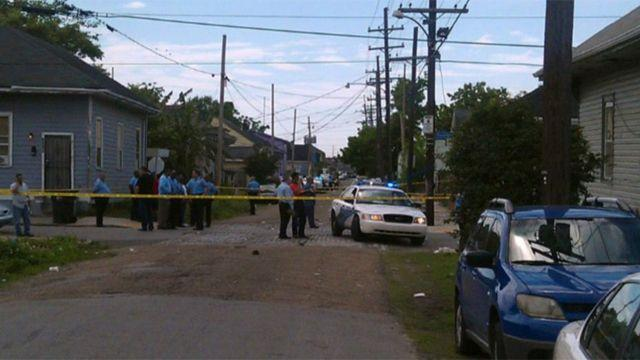 12 people shot at New Orleans Mother's Day parade