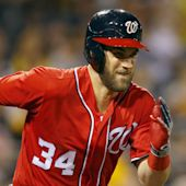 Nationals' Bryce Harper 'day to day' with sore thumb