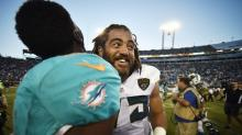 Jared Odrick keeps a sense of humor about release from Jaguars with funny picture