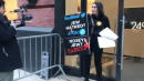 Right-Wing Conspiracist Laura Loomer Handcuffs Herself To Door Of Twitter's Office