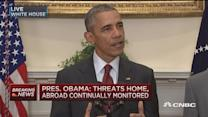 Pres. Obama: Public will be informed of credible threats
