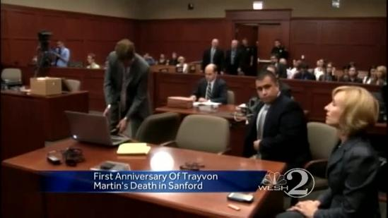 Today marks 1 year since Trayvon Martin shooting death