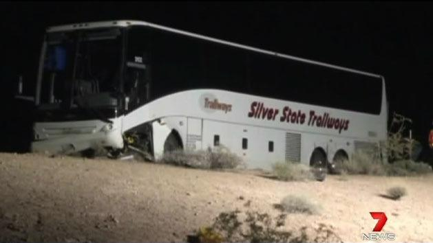 Aussies in US bus crash leave hospital
