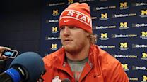 Mewhort talks about a tough game against Michigan