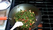 Vegetarian Stir Fry Yard Bean Recipe