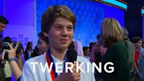 National Spelling Bee Kids Spell Twerk, Emoji and New Dictionary Words