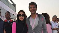 Karisma Kapoor Flags Off 'Pinkathon'