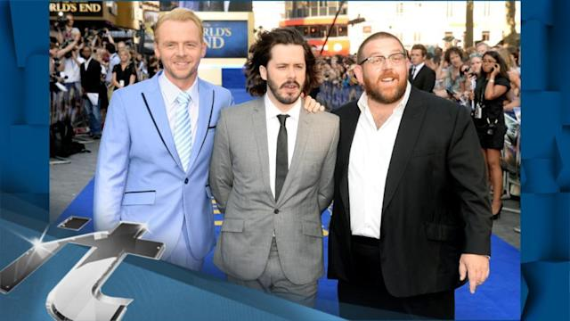 United Kingdom Breaking News: 'The World's End' Premiere: Cast Celebrates Boozy Pub Crawl Comedy in London