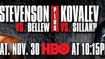 Sergey Kovalev Feature