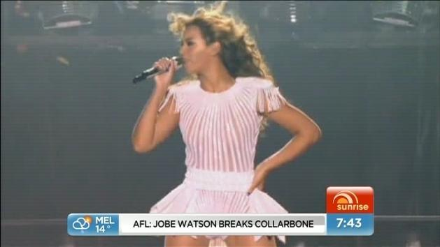 Beyonce coming back to Australia