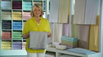 The Trick to Folding and Storing Sheets with Martha Stewart