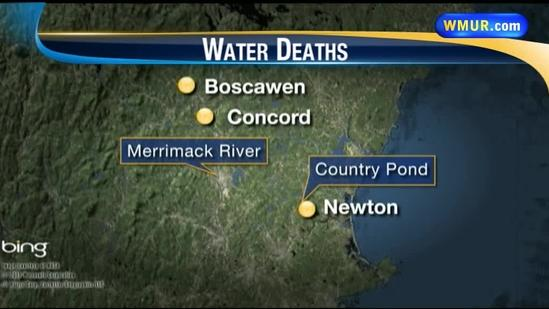 Multiple water deaths in Granite State rivers, ponds prompt warning