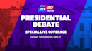 How to watch the presidential debate live on Yahoo