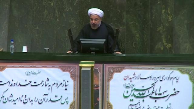 Rouhani says Iran rejects threats, cites