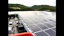 City unveils new photovoltaic system to harness solar energy