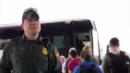 Bus Driver Tells Passengers Only U.S. Citizens Can Ride As Border Patrol Agent Looks On
