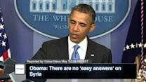 Obama: There are no 'easy Answers' on Syria