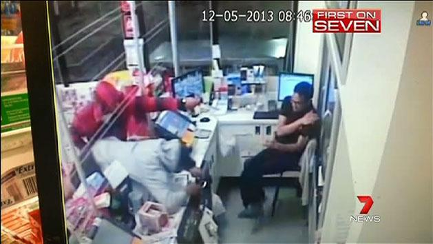 Terrifying armed robbery in Blacktown